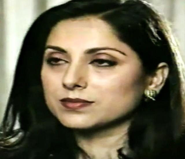 The vintage Samina Peerzada