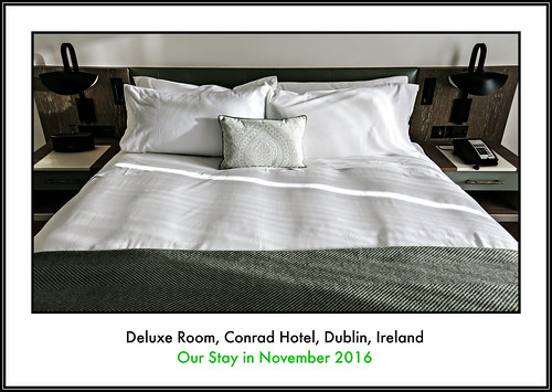 || CONRAD HOTEL || DUBLIN || IRELAND || OUR STAY INCL. DELUXE ROOM, DINNER AND BREAKFAST AT THE COBURG BRASSERIE AND MORE || A BEAUTIFUL LUXURY LANDMARK HOTEL IN THE IRISH CAPITAL || NOVEMBER 2016 || HIGHLY RECOMMENDED ||