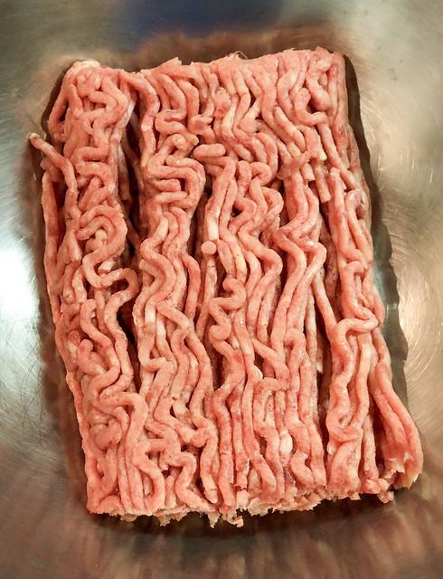 お肉を入れて
