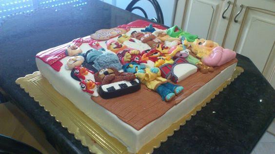 Muppet Show Cake by Célia Guilherme of Célia Pereira Guilherme