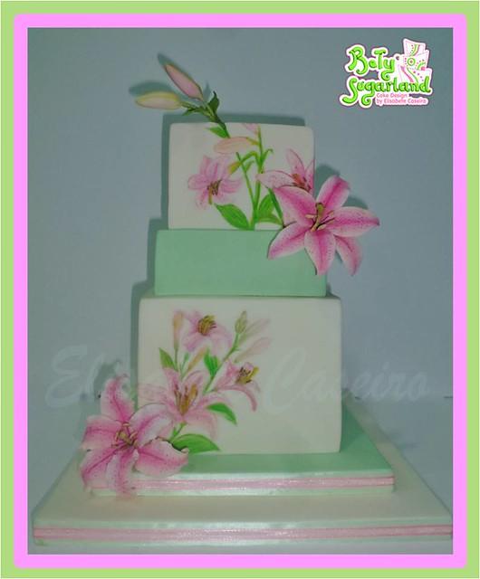 Cake by Betysugarland - Cake Design by Elisabete Caseiro