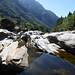 Hiking in the Verzasca Valley by Small