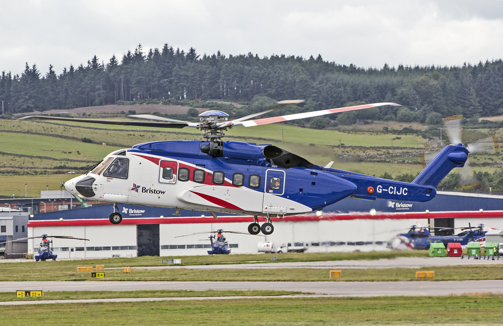 G-CIJC Sikorsky S-92A Bristow Helicopters
