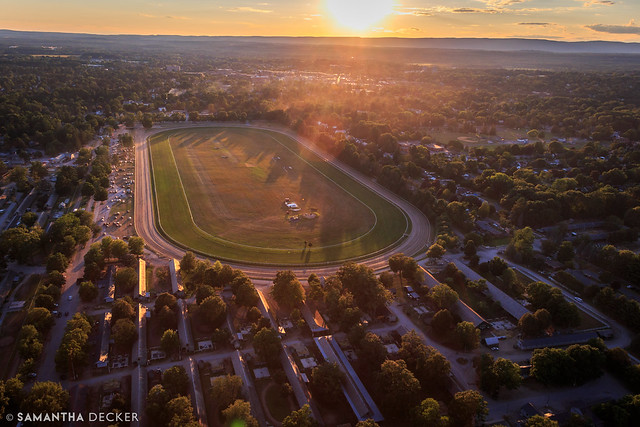 Sunset over Oklahoma Track