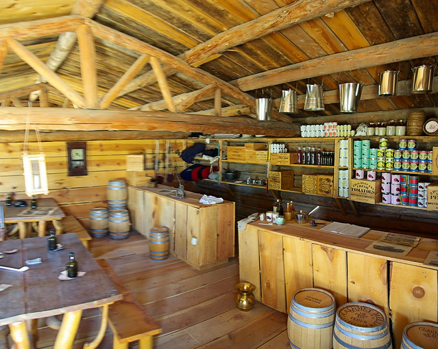 Sutler Store, Fort Caspar, Wyoming, July 11, 2010