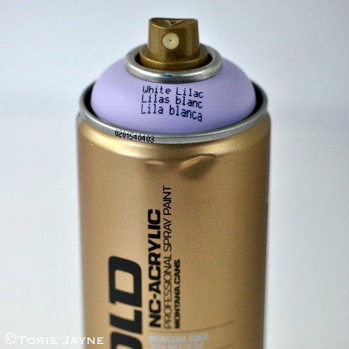White Lilac Gold Montana Spray Paint
