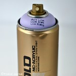 White Lilac Gold Montana Spray Paint