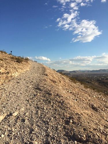 Exploration Peak trail, Las Vegas