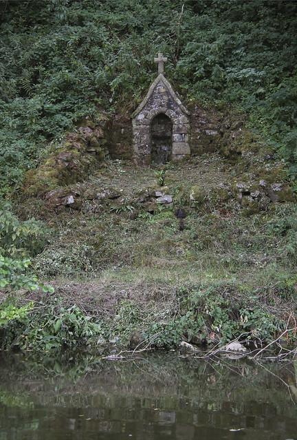 La fontaine du Petit Saint-Celerin