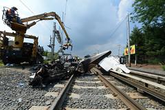 LIRR / MTAPD at Work: August 16, 2015 Plane Crash