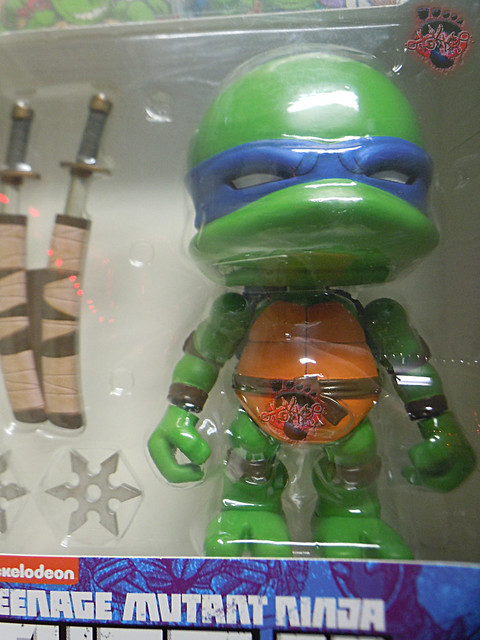 "tOkKustom :: LOYAL SUBJECTS 'Katana Lobotomy' LEONARDO v / Original L.S. TMNT 8"" JUMBO LEONARDO box"