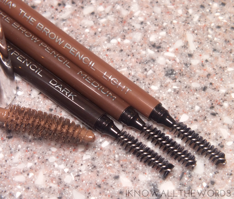 Mirabella Beauty Borrowed from the Boys Brow Collection the brow pencil light, medium, dark (3)