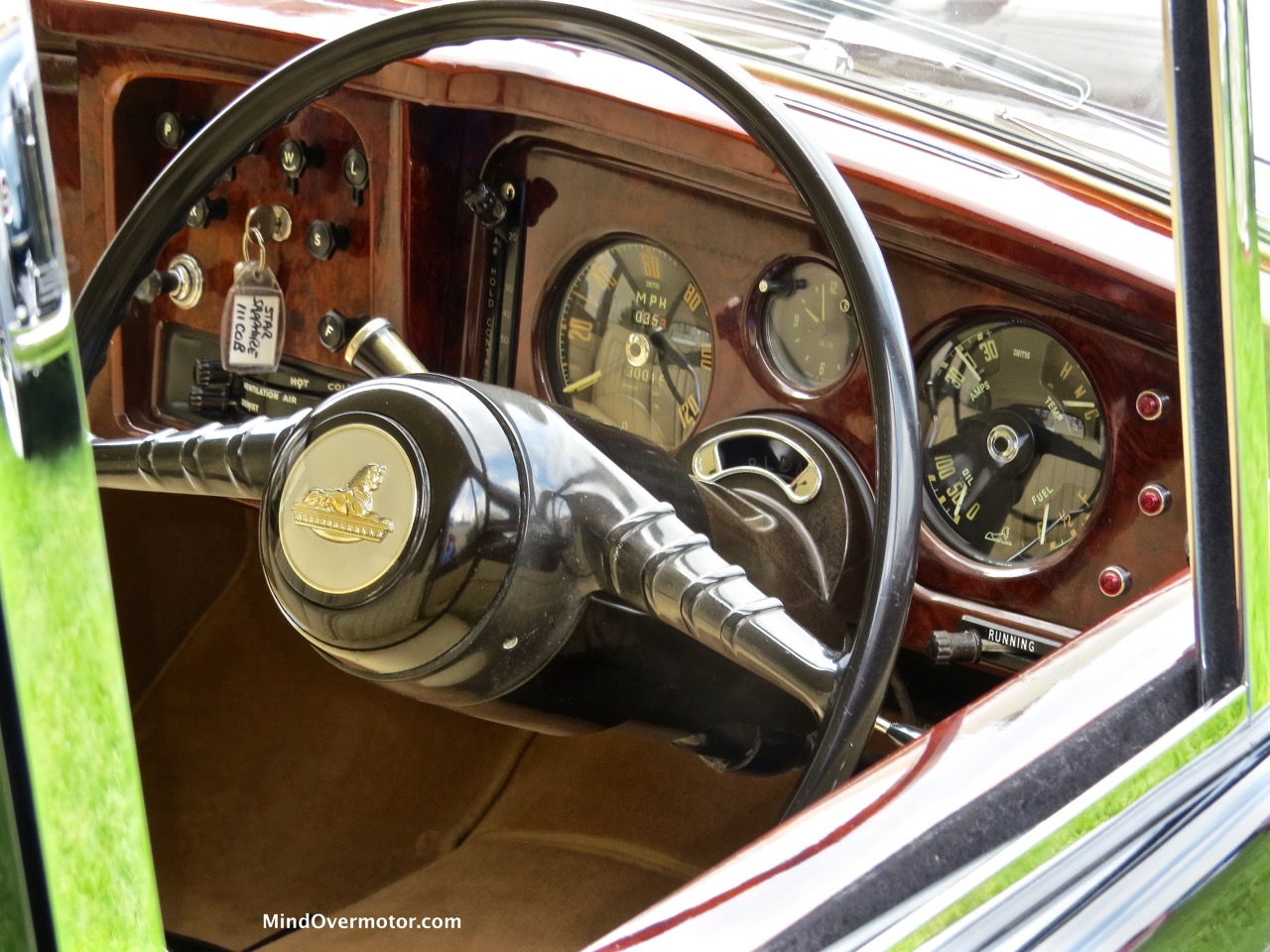 Armstrong-Siddeley Star Sapphire Interior