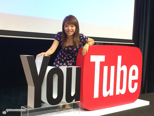 Youtube Fanfest Singapore Tiffany Yong