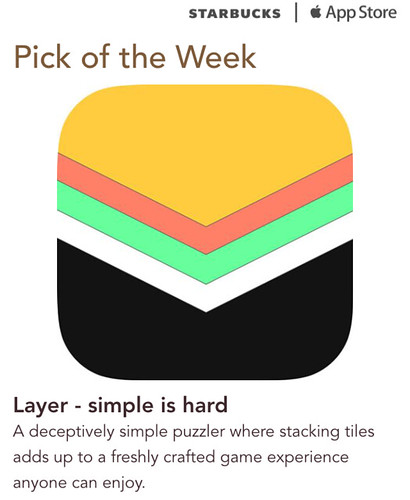 Starbucks iTunes Pick of the Week - Layer
