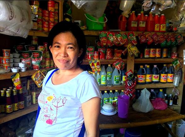 Daanbantayan market vendor Emily Manigos