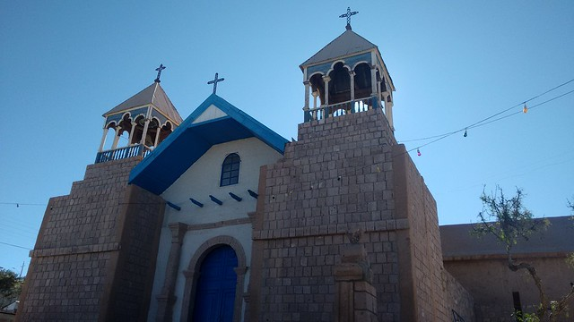 Church in Mamiña, Tarapacá, Chile