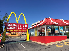 Unique McDonald's Sign And Store; Westbury, New York