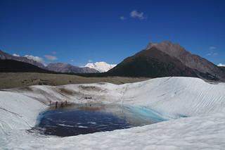 100 Op de gletsjer