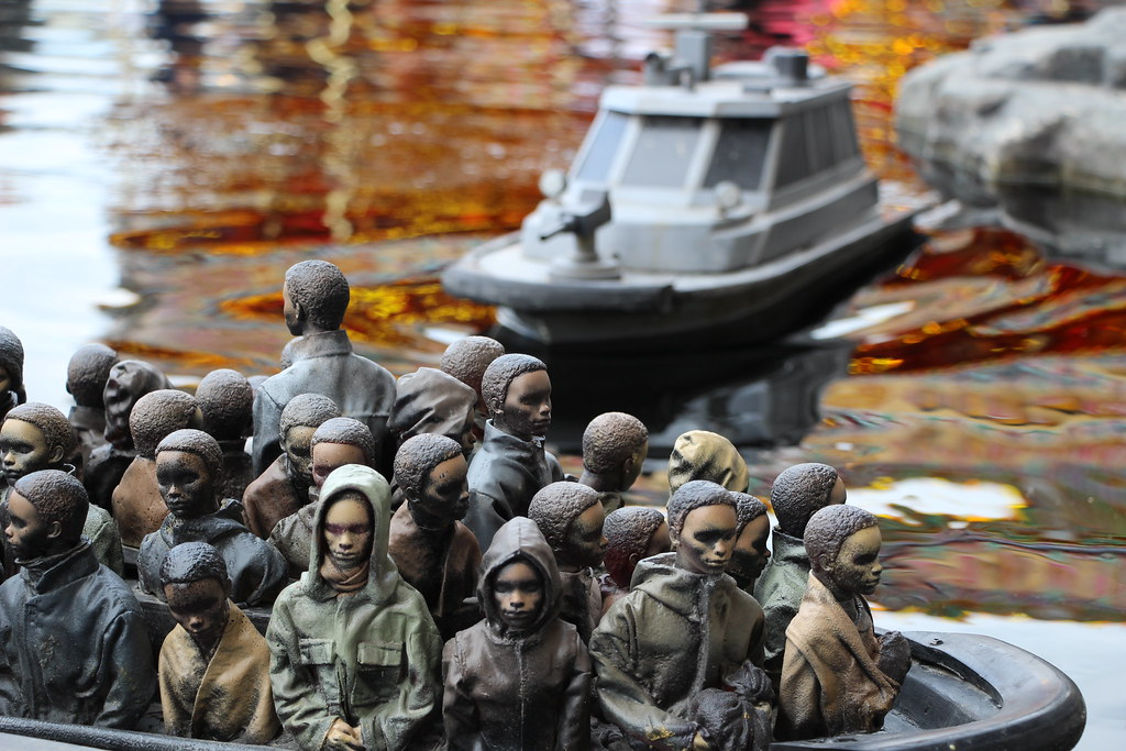 Refugee float