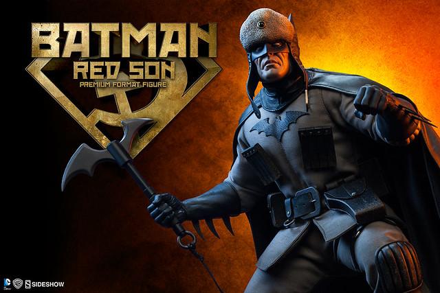 Sideshow Collectibles【紅之子。蝙蝠俠】Batman Red Son 1/4 比例 全身雕像