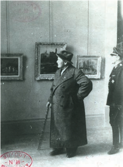 15j01 Göring en el Musel del Luxemburgo