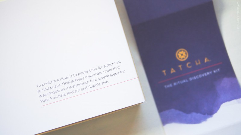 Tatcha skincare Sensitive