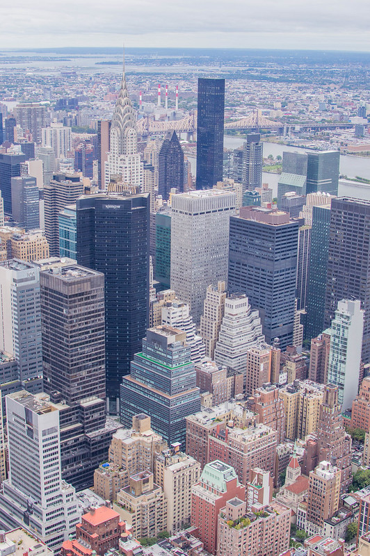 New York City from Empire State Building