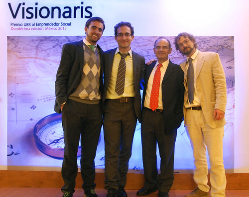 Ashoka y UBS entregan Visionaris Premio UBS al Emprendedor Social