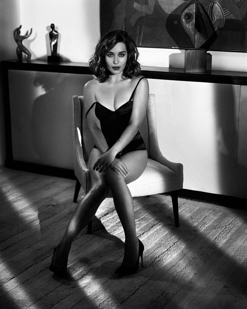 Эмилия Кларк — Фотосессия для «Esquire» 2015 – 7