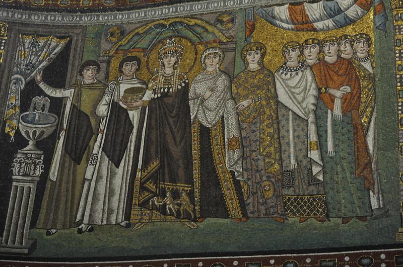 Mosaic of Theodora, San Vitale