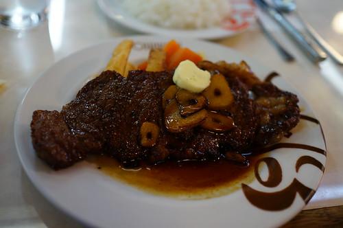 牛排 牛のステーキ