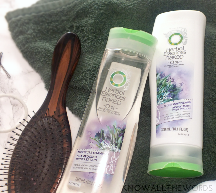 herbal essences naked moisture shampoo conditioner and dry shampoo (1)