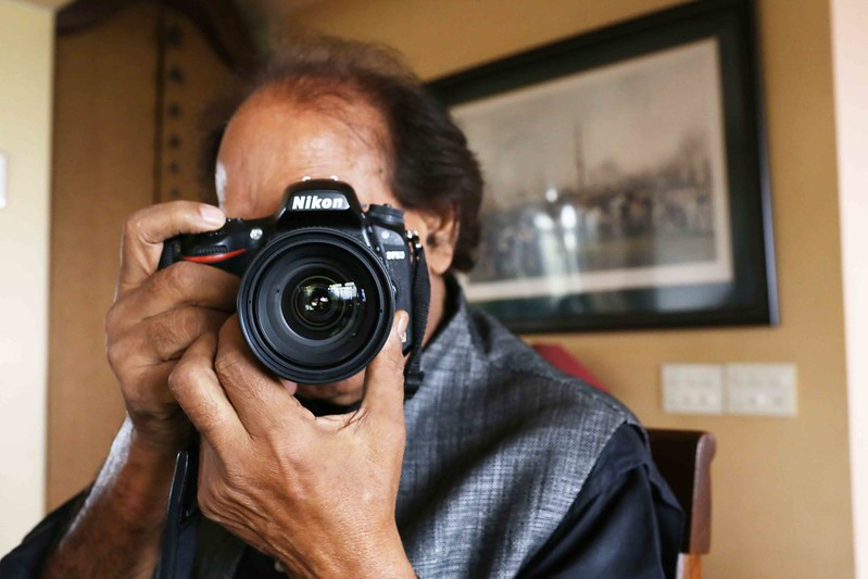 A Portrait of The Delhi Walla as Photographer Raghu Rai