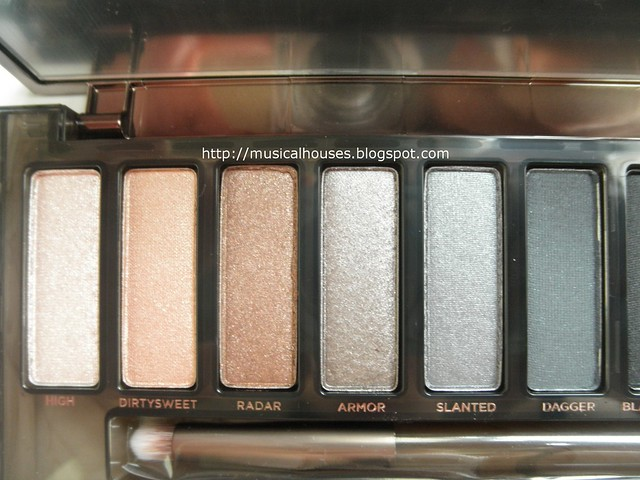 Urban Decay Naked Smoky Palette Shades 1 - 6