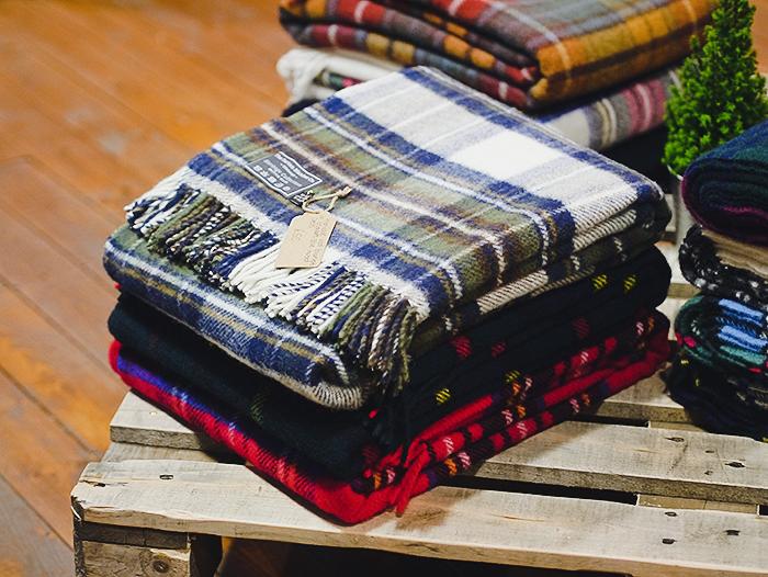tartan blanket co edinburgh pop up shop 10