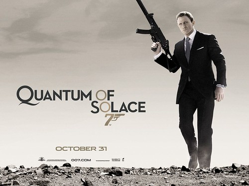 Quantum of Solace - Poster 2