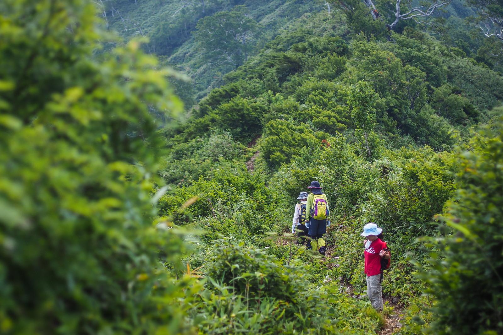 Hiking Mt. Kamuishiri in Hokkaido, Japan