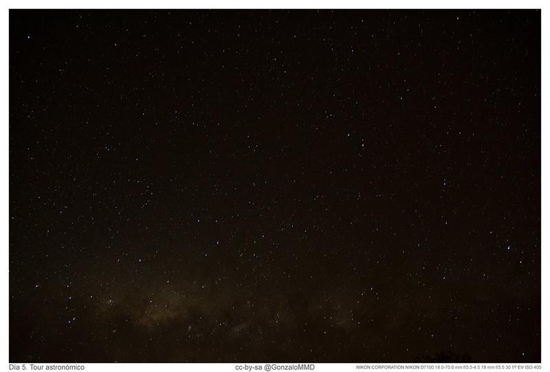 Día 5. Tour astronómico