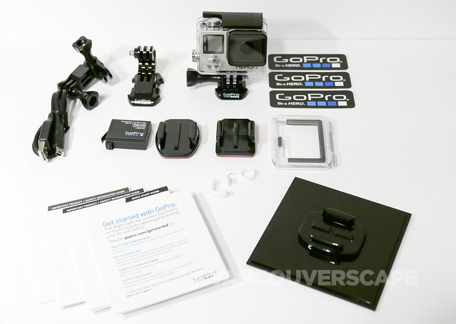 GoPro HERO4 Black unboxing