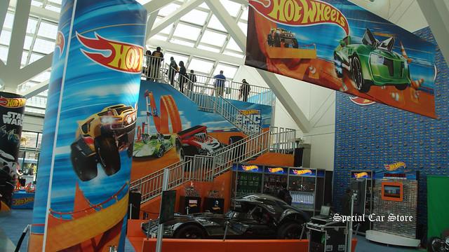 Hot Wheels at LA Auto Show 2015