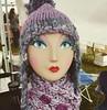 Cozy lavender lady #bewilderknits #knitting #phoenix