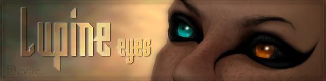 Devae. Eyes/Lupine