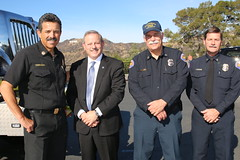 LAFD Receives 5 California OES Wildland Fire Engines