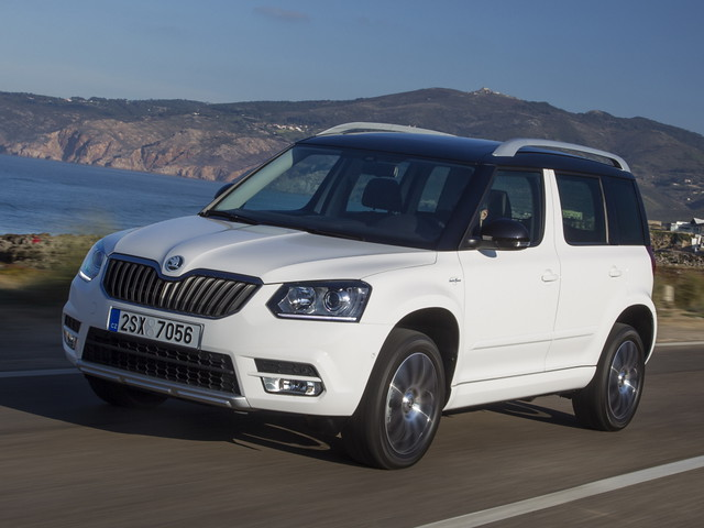 Кроссовер Skoda Yeti Outdoor Laurin & Klement. 2013 год