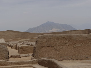Image of  Chan Chan  near  Trujillo.