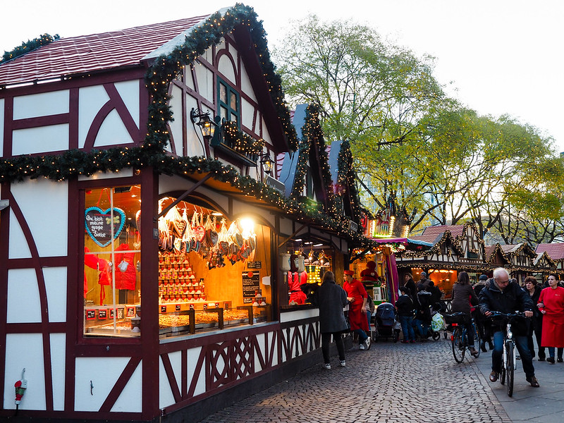 Rudolfplatz Christmas market in Cologne
