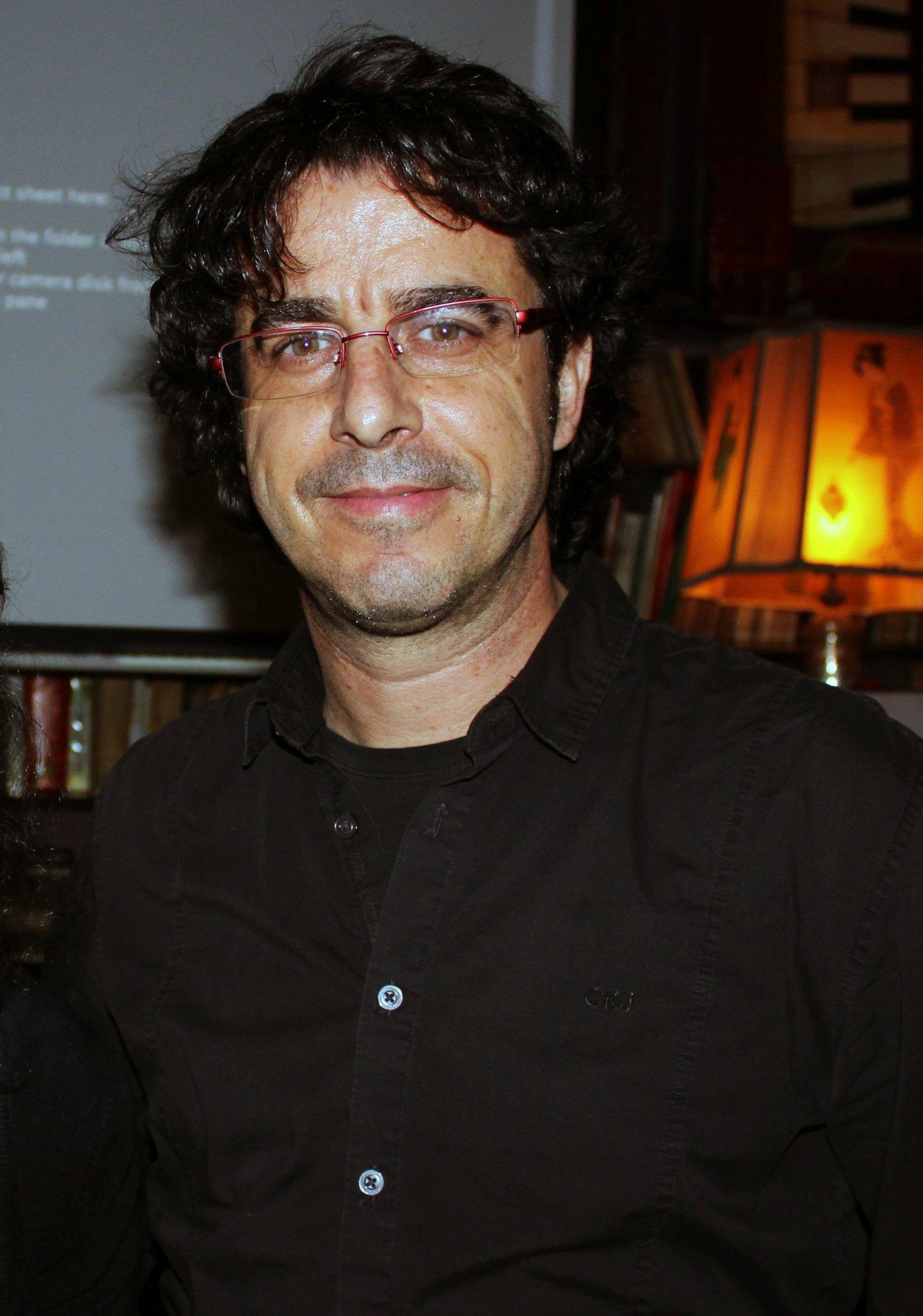 Emilio Morenatti, en La Tertulia Infinita 17. Foto: Jon Bradburn.