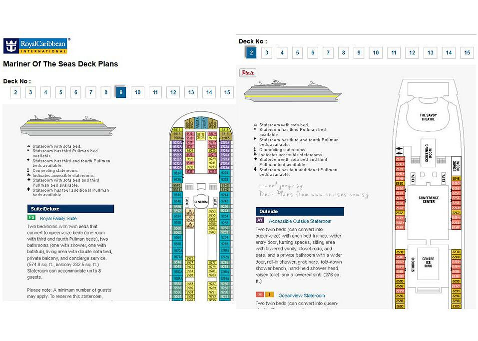 Deck Plans - travel.joogo.sg