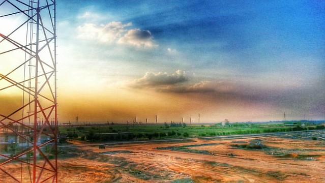 Sunset at Wadi Elnatroon